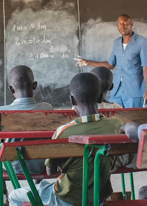 blackboard for a classroom