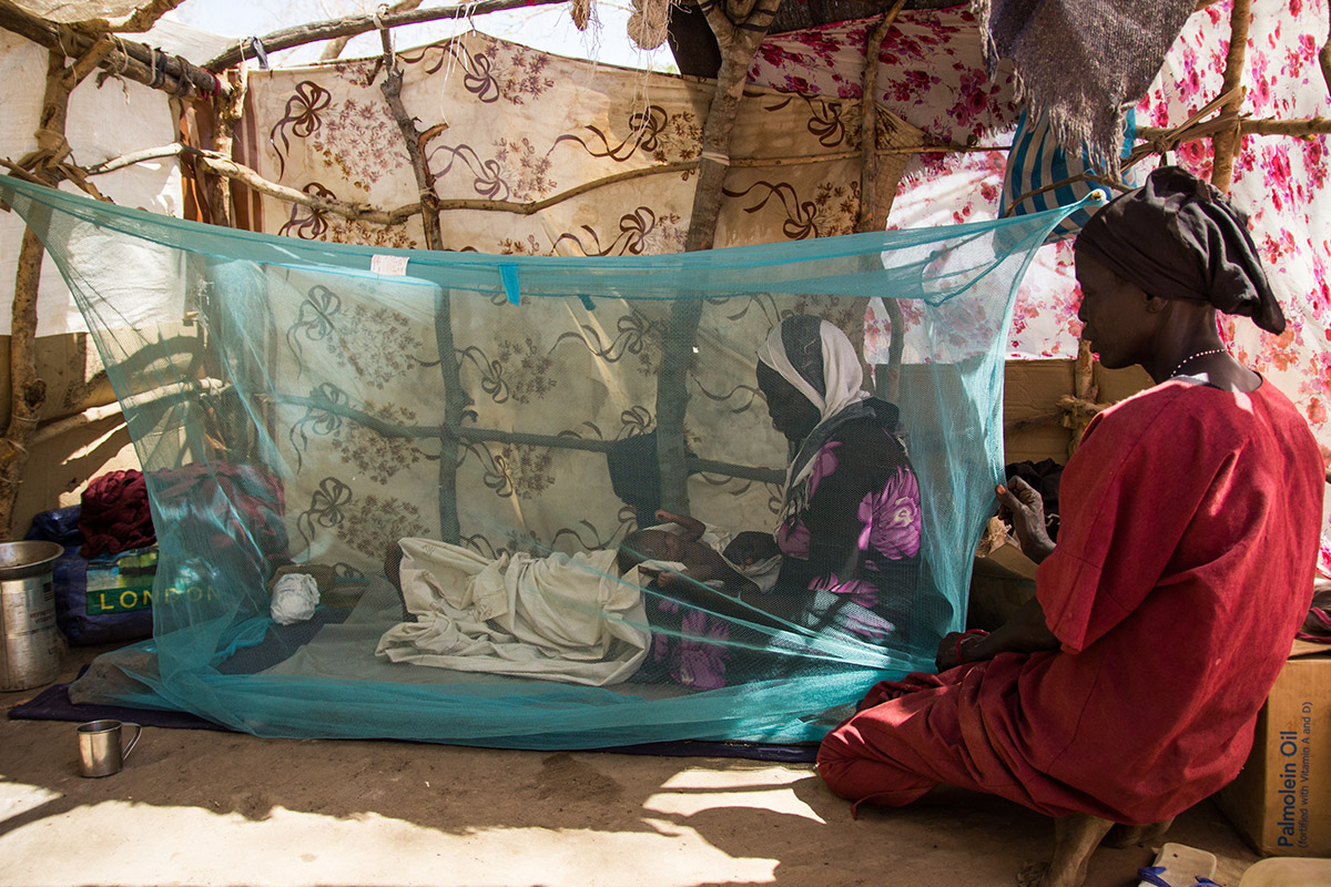 Mosquito Nets for 9 Families