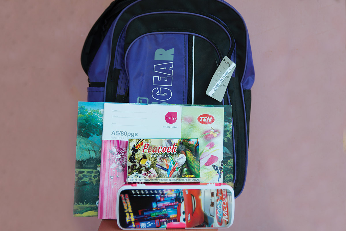 Back to School Supplies for a Child in Need