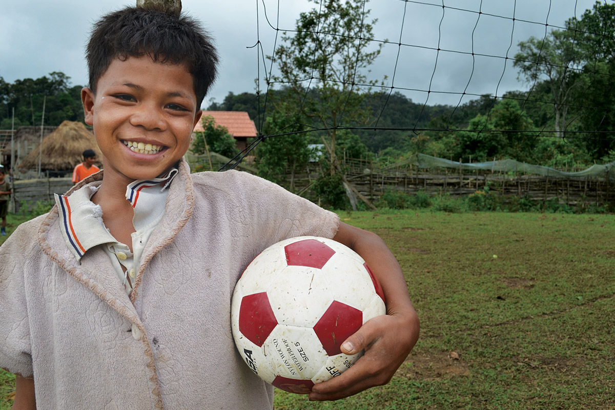 Two Soccer Balls